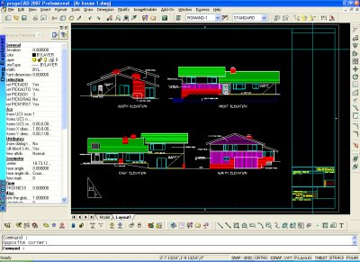 progeCAD Smart! Screen1