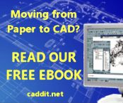 Free CAD e-Book: from hand sketch and board drafting to AutoCAD compatible design